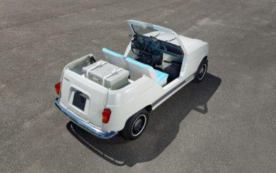 Prototipo Renault 4L Eletrico